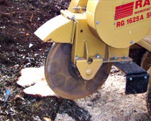 Tree Stump Grinder - Devon Stump Grinding